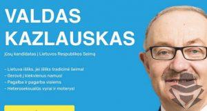 Valdas Kazlauskas - kandidatas už kurį balsuoti abejojantiems
