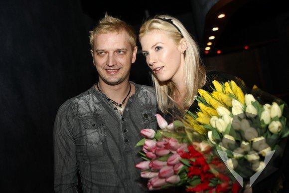 Ugnius Kiguolis su žmona