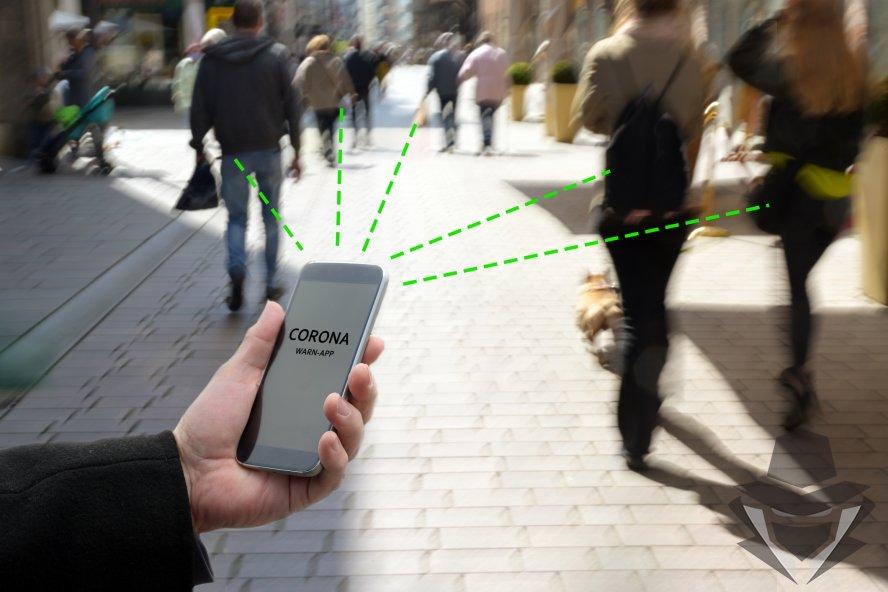 Bluetooth veikia kiauriai kliūtis ir telefonai vienas kitą gali matyti per sienas