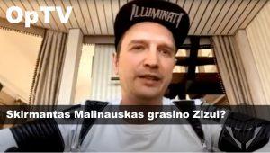 OpTV: Sprogimas socialiniuose tinkluose! Ugnius Kiguolis liudija: Skirmantas Malinauskas grasino Zizui!